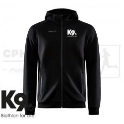 Craft Core Soul Full Zip Hood, Men - K9 Biathlon