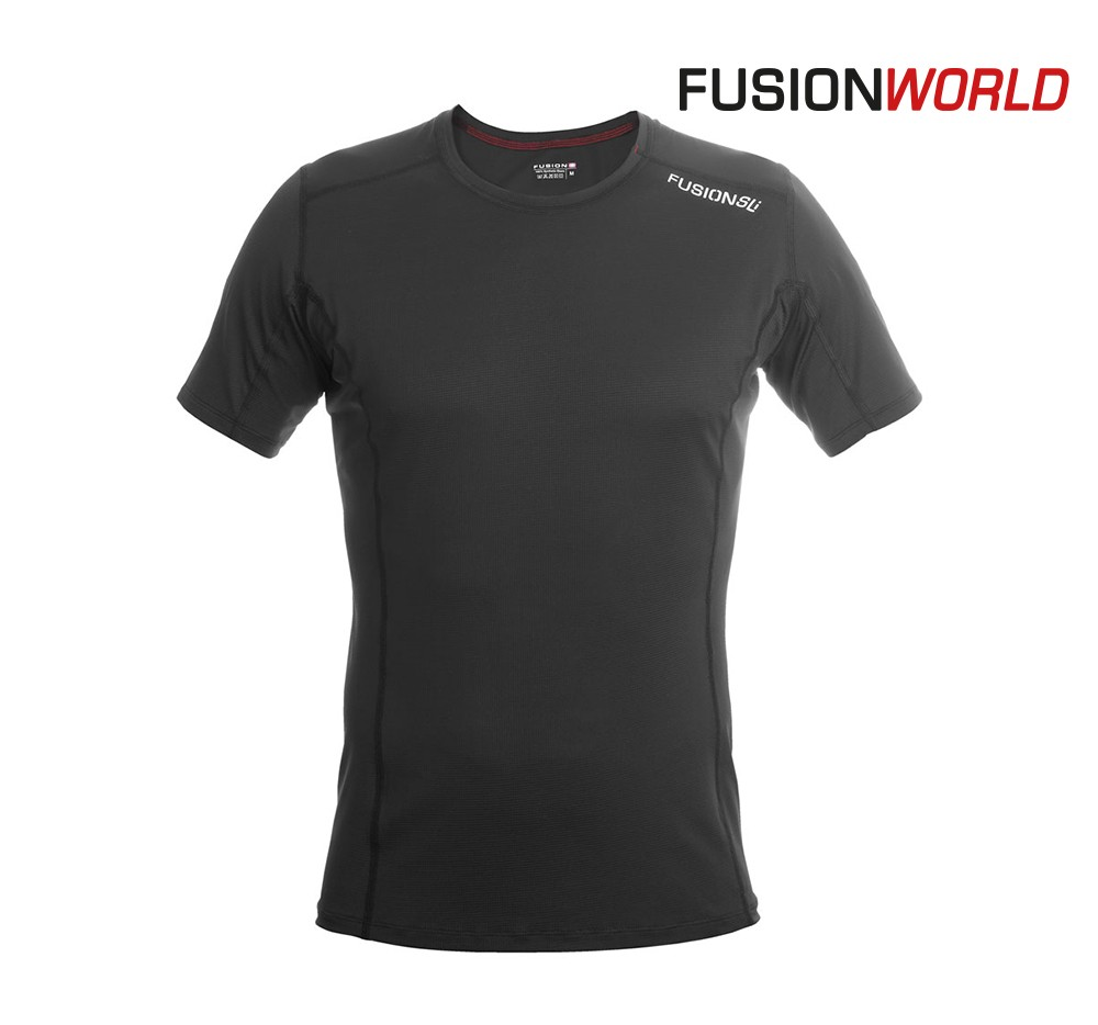 Fusion SLi T shirt Men, black