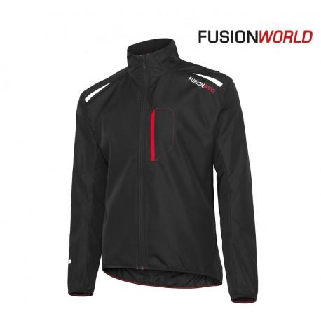 Fusion S100 Run Jacket Men, black