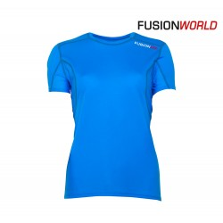 Fusion PRF T-shirt Woman, blue