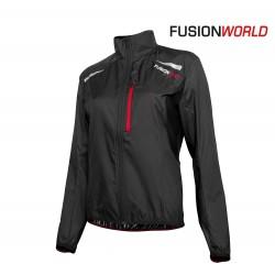 Fusion S100 Run Jacket Woman, black