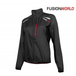 Fusion S100 Run Jacket Woman, black