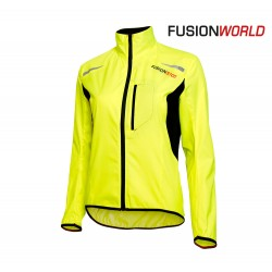Fusion S100 Run Jacket Woman, yellow