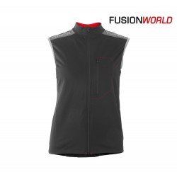 Fusion S2 Run Vest Woman, black