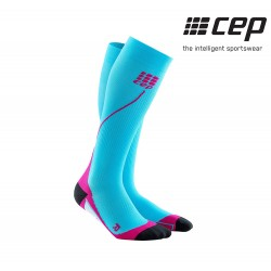 CEP Run Sock 2.0 Woman, hawaii blue/pink