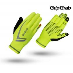 GripGrab Running Expert Hi-Vis Unisex, fluo yellow