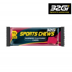 32Gi Endure Sport Chews, raspberry