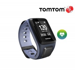 TomTom Runner 2 Cardio (S), sky captain/purple haze