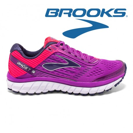 Brooks Ghost 9 Women, purple cactus flower