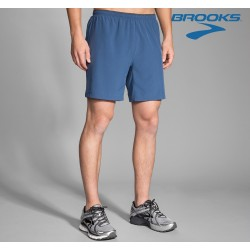 Brooks Sherpa 7' 2 in 1 Shorts Mens, ink