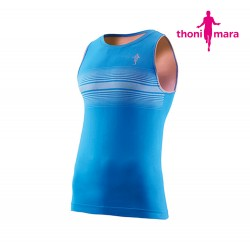 Thoni Mara Breeze Singlet Men, ocean