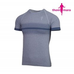 Thoni Mara Breeze T-shirt Men, light carbon