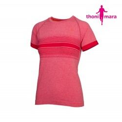 Thoni Mara Breeze T-shirt Woman, hot chili