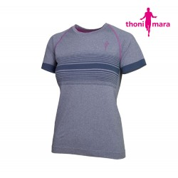 Thoni Mara Breeze T-shirt Woman, light carbon