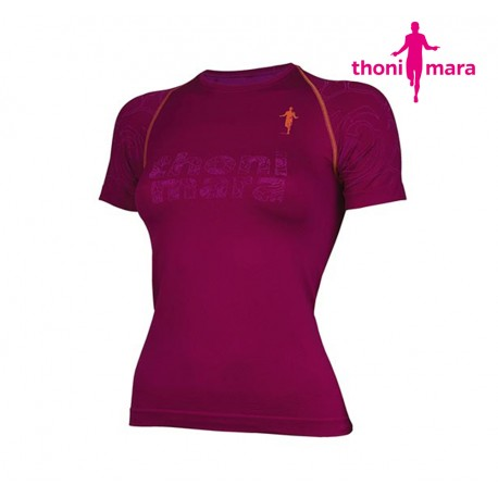 Thoni Mara Rose T-shirt Woman, tosca