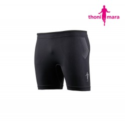 Thoni Mara Short Tight Men, black/grey