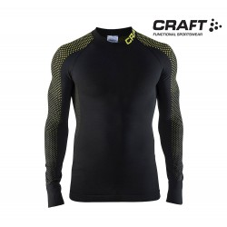 Craft Warm Intensity Crewneck LS Men, black/go