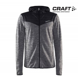 Craft Breakaway Jersey Jacket Men, grey melange/black