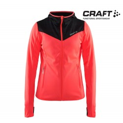 Craft Breakaway Jersey Jacket Woman, panic/black