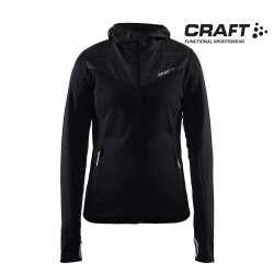 Craft Breakaway Jersey Jacket Woman, black