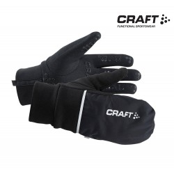 Craft Hybrid Weather Glove Unisex, black