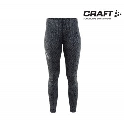 Craft Mind Reflective Tights Woman, black