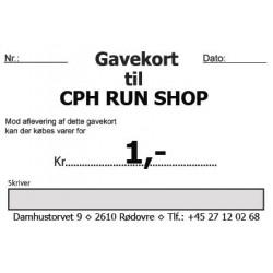 Gavekort 1,-