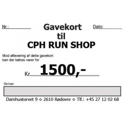 Gavekort 1500,-