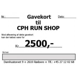 Gavekort 2500,-