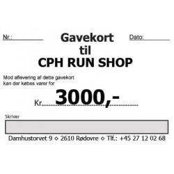 Gavekort 3000,-