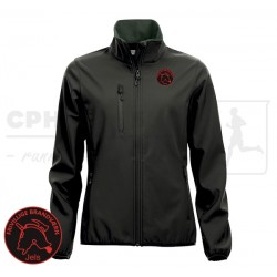 Basic Softshell Jacket Women - Jels Frivillige Brandværn