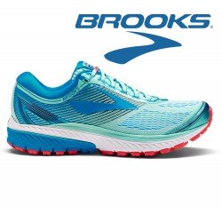 Brooks Ghost 10 Women mint/blue/pink