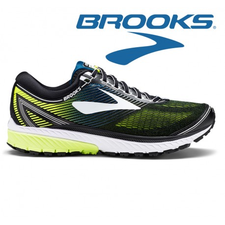 Brooks Ghost 10 Men black/white/nightlife
