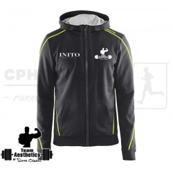 In-The-Zone Full Zip Hood, Men | flere farver - Team Aesthetics