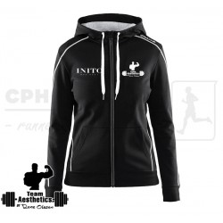 In-The-Zone Full Zip Hood, Women | flere farver - Team Aesthetics