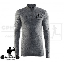 Active Comfort Zip, Men | grå - Team Aesthetics