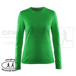 Mind LS Tee, Women | grøn - Gå-lunt-løb