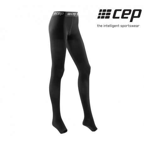 CEP Recovery Pro Tights Woman, black