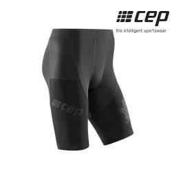 CEP Kompression Tights Short 3.0 Men, black
