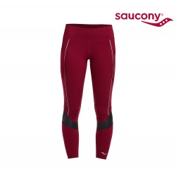 Saucony Finishing Kick Crop Tights Woman