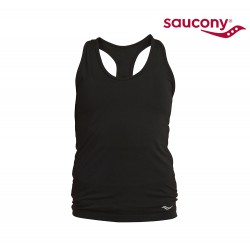 Saucony Bell Lap Seamless Tank Top Woman, black