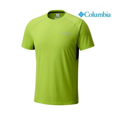 Columbia Montrail Titan Ultra Short Sleeve Shirt Men, fission