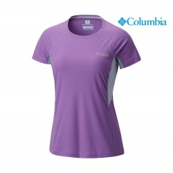 Columbia Montrail Titan Ultra Short Sleeve Shirt Woman, crown jewel