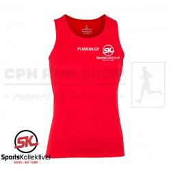 Fusion C3 Singlet Women, red - Sportskollektivet