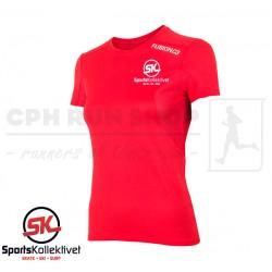 Fusion C3 T-shirt Women, red - Sportskollektivet
