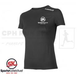 Fusion C3 T-shirt Women, black - Sportskollektivet