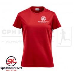 Clique ICE-T Women, red - Sportskollektivet