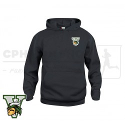 Clique Basic Hoody, Junior - Amager Vikings Softball