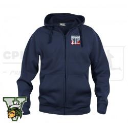 Clique Basic Hoody Fullzip, Unisex - Amager Vikings Softball