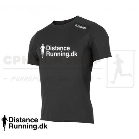Fusion C3 T shirt Men, black DistanceRunning.dk